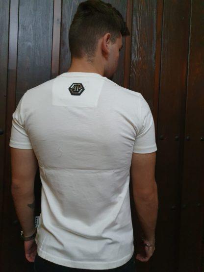 Camiseta Philipp Plein blanca