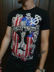 Camiseta Philipp Plein con cristales Swarosvki