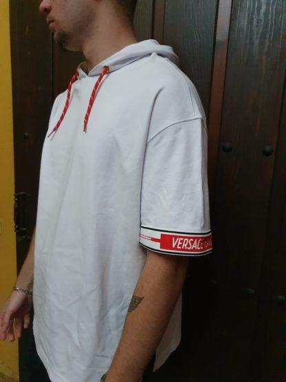 Camiseta Versace blanca y roja