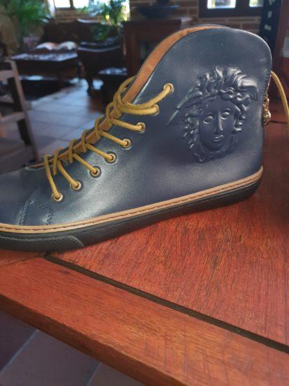 Zapatos Versace azul